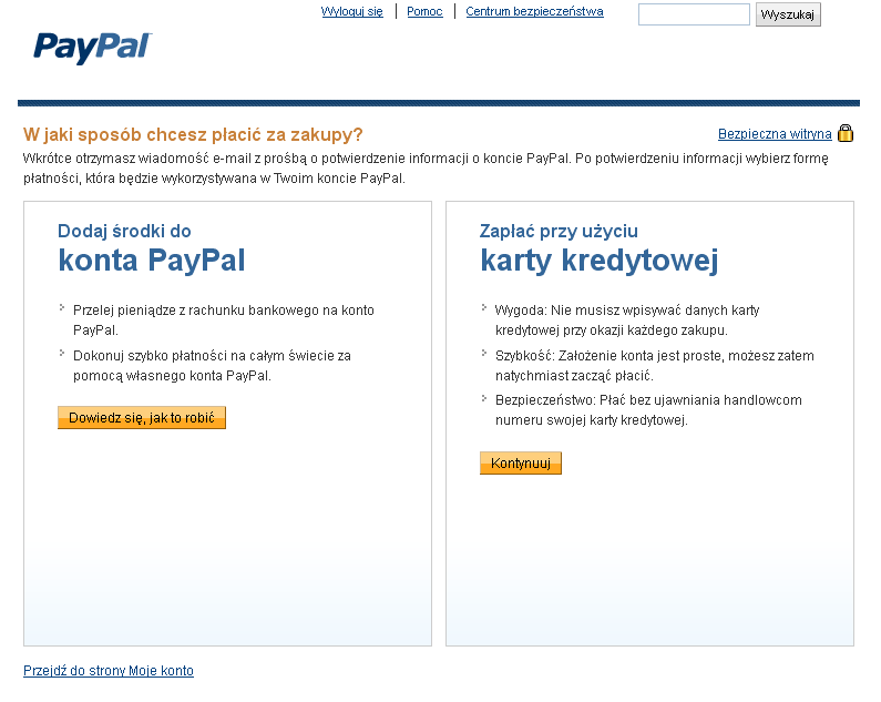 ww paypal konto